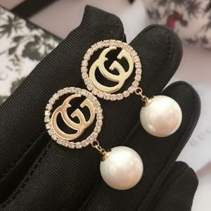 GG Earrings with box